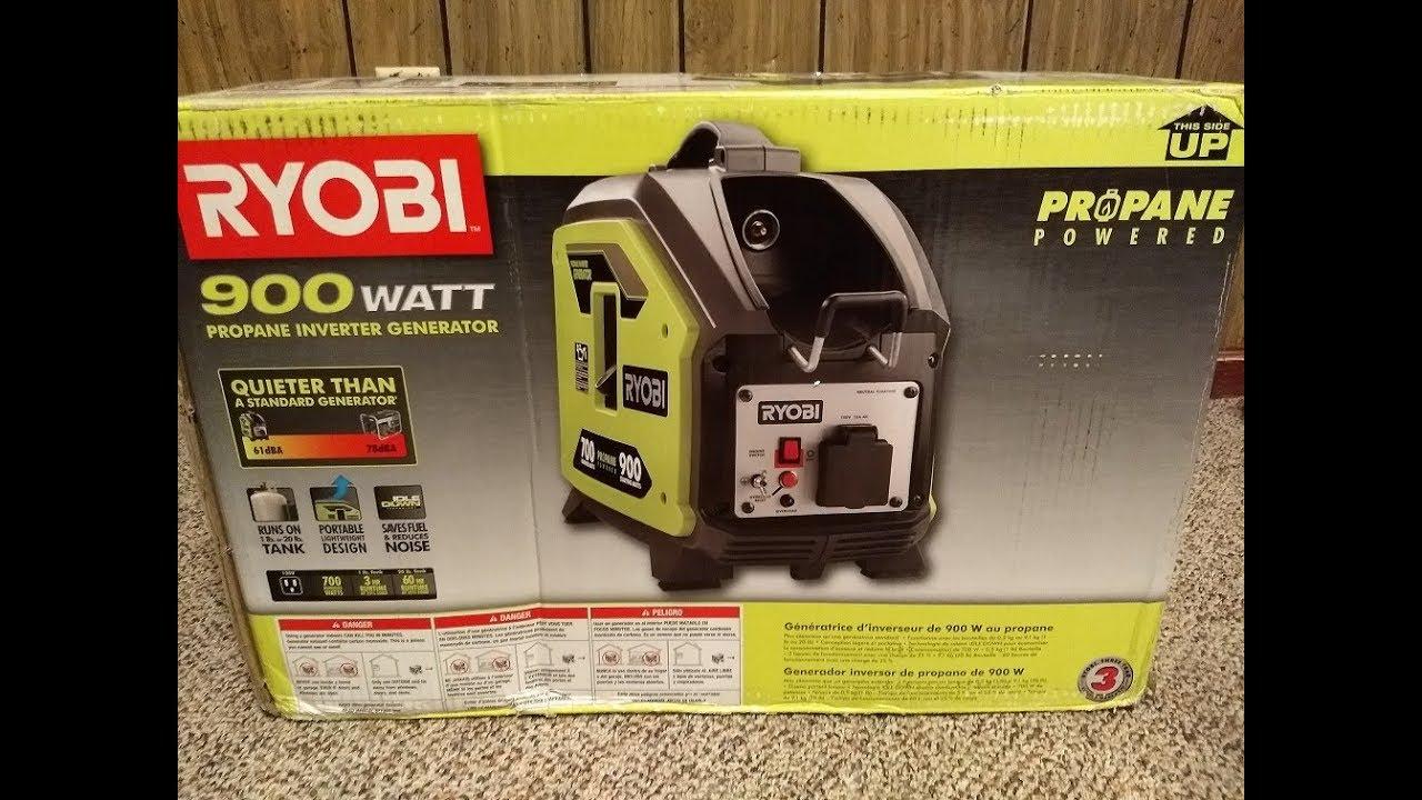 Ryobi Propane Powered Generator
