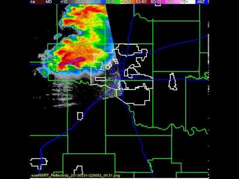 may 31 2013 Oklahoma city radar phased array radar loop