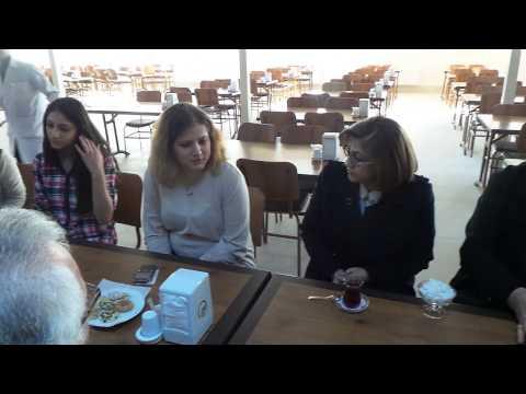 Gaziantep Kredi ve Yurtlar Kurumu Nilüfer Kız Yurdu Ziyareti