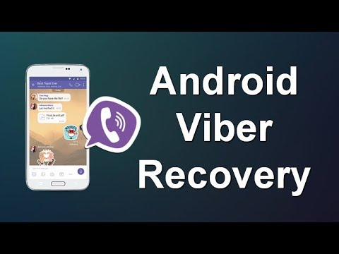 How to Retrieve Deleted Viber Messages on Android