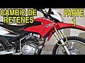COMO CAMBIAR LOS RETENES DE UNA MOTO - TUTORIAL (#HONDA_XR150L) parte 1 de 2