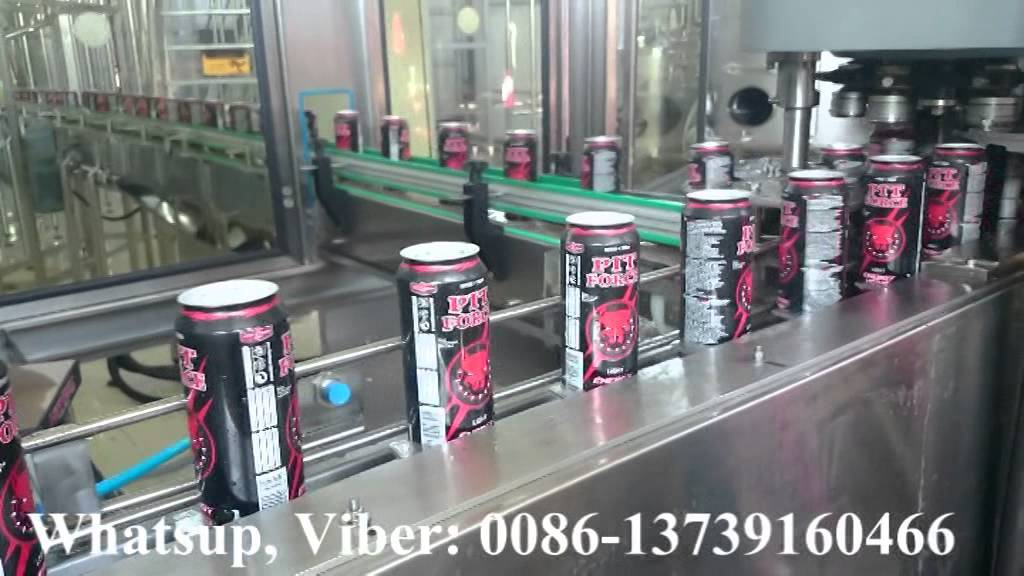 beverage aluminum can filling production line