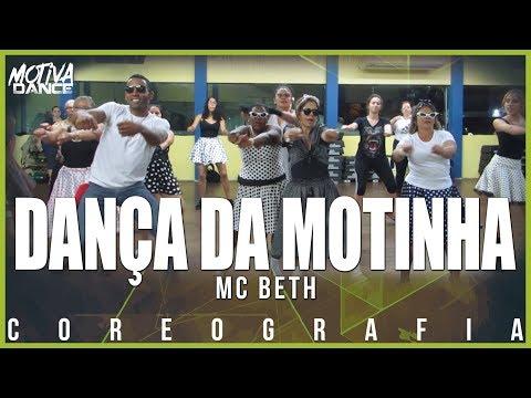 Dança da Motinha - MC Beth  Motiva Dance Retrô Coreografia