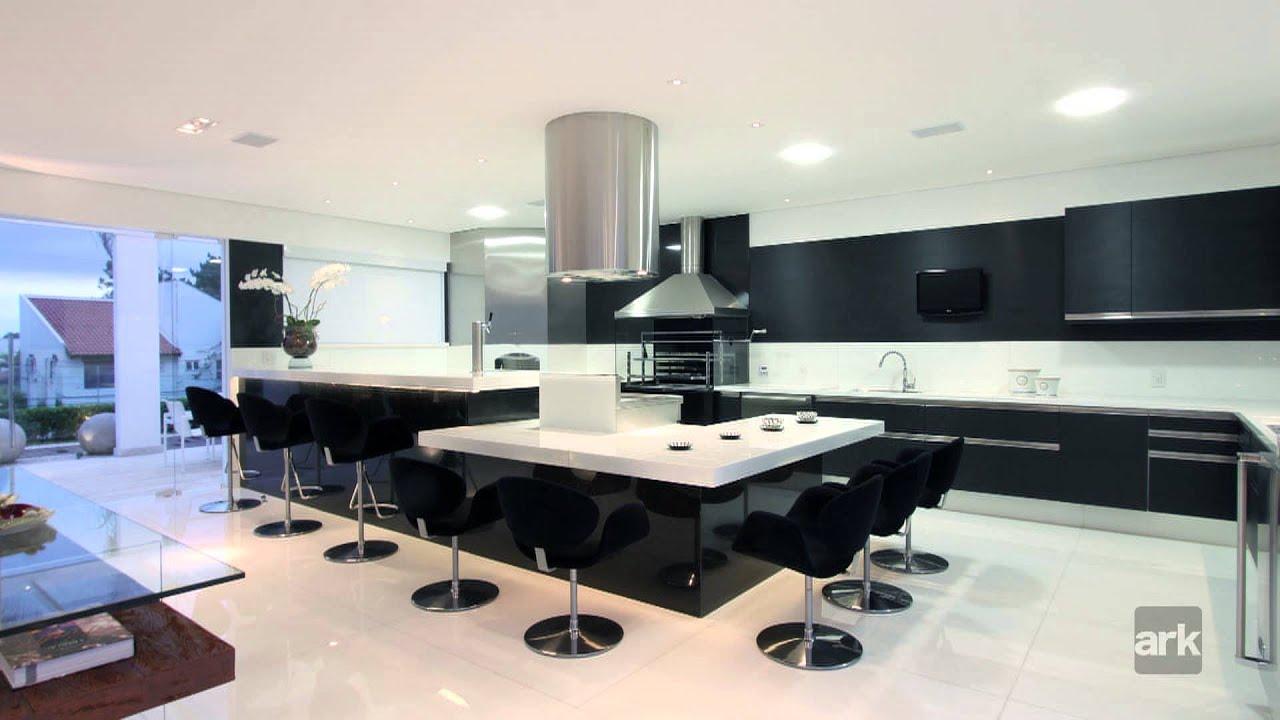 #2658A5 Churrasqueiras e espaços gourmet por Sueli Adorni.   1920x1080 px Projetos De Cozinhas Gourmets_5733 Imagens