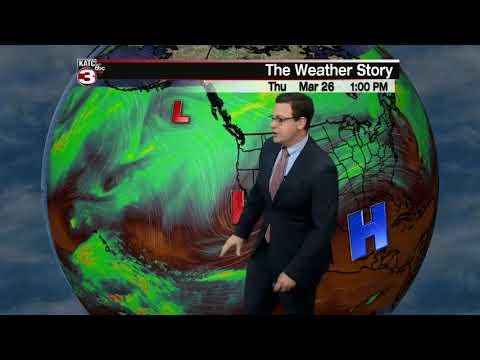 Daniel's weather forecast 03-26-20 6pm