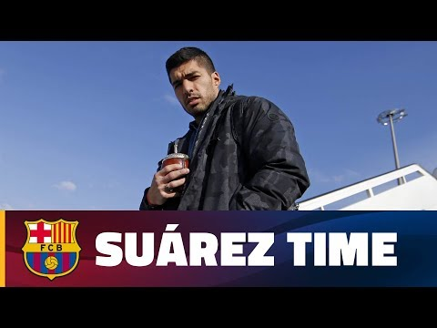 A day in the life of Luis Suárez