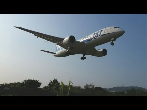 Aircraft Takeoff & Landing at Taipei Songshan Airport (Oct.2015~Feb.2016)