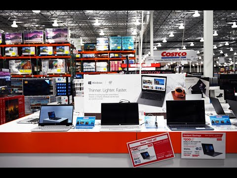 Costco In 4K! Sept 2019 Laptops, Remodeling Deals, Donate Food