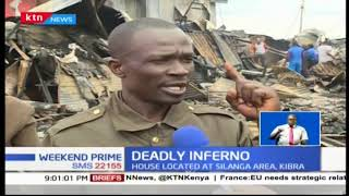 The tragic fire incident in Kibera kills eight people