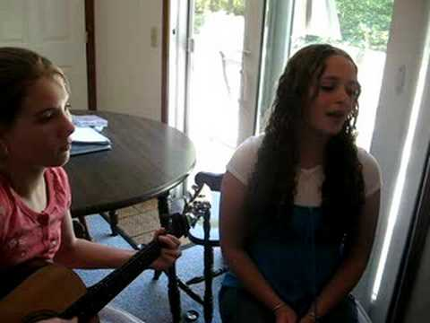 """Rachel & Elizabeth singing & playing """"this is me"""""""