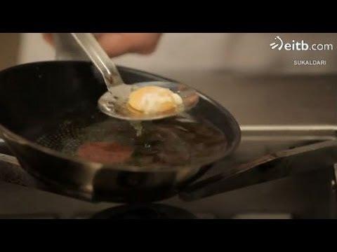 Cómo hacer un huevo frito de manera original