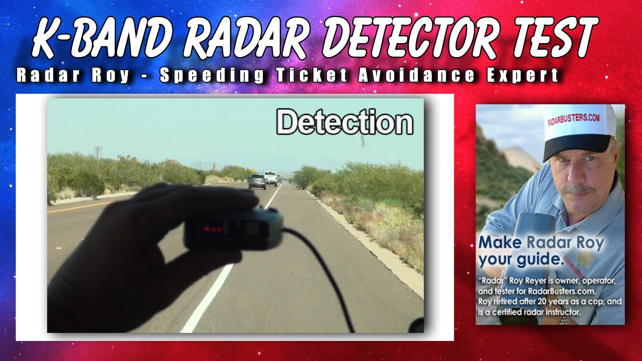 K Band Radar Detector Test - Radar Roy - YouTube