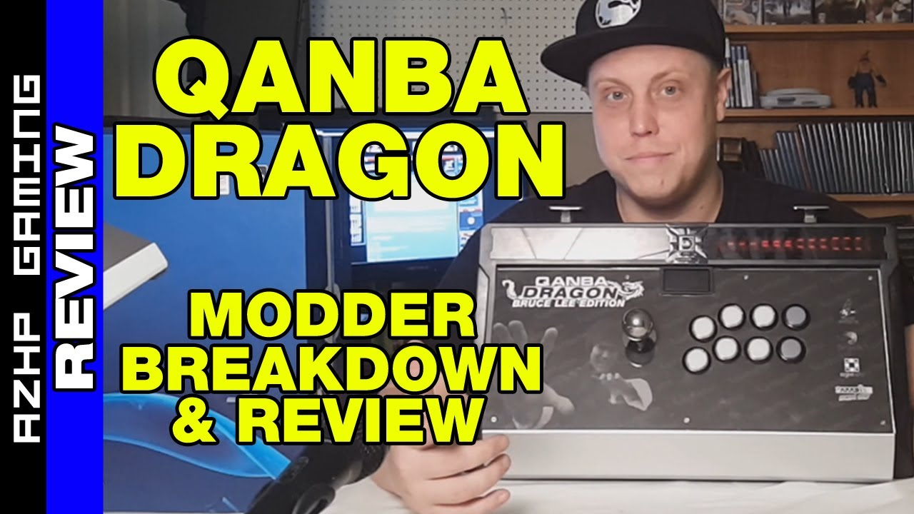 Qanba Dragon Arcade Stick Review Amp Breakdown With Modder