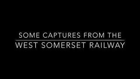 West Somerset railway webcams