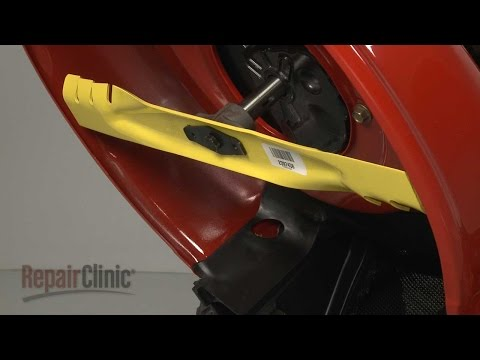 Mower Extreme Blade Replacement – MTD Lawn Mower Repair (Part #942-0741X)