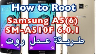 A510f twrp root