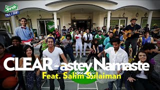#SpriteCLEARastey NAMASTE - Feat. Salim Sulaiman | FULL Lyric Video | Sprite Till I Die2