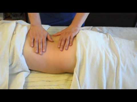 Приемы миотерапии при болях в области тазового пояса и ног