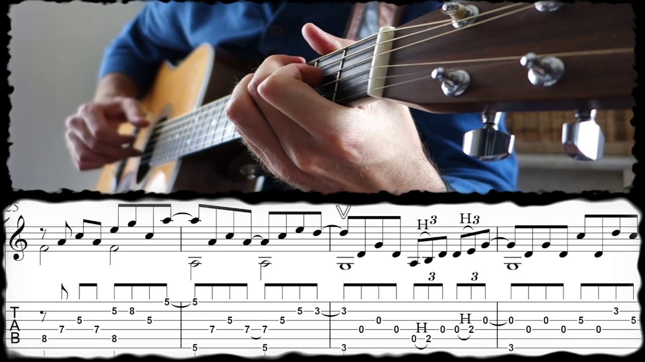 ANOTHER LONELY DAY BEN HARPER /Ben T Zik guitar cover15 VIDEO with TAB