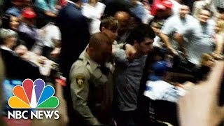 Man Arrested At Donald Trump's Las Vegas Rally, Threatens Candidate's Life   NBC News