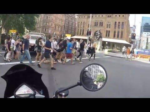 Australia Day Sydney City Motorbike Ride