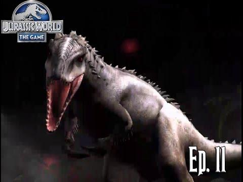 EL NUEVO INDOMINUS REX!!! // Jurassic World: El Juego #11 - En Español HD