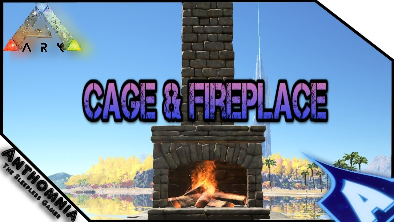 ARK Survival Evolved | Patch 227 | Stone Fireplace | Wood Cage ...