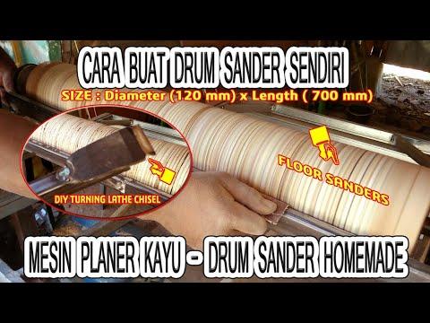 cara-buat-drum-sander-mesin-planer-amplas-kayu