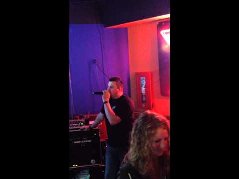 "Karaoke Saturday Nights! Horseshu, Edmonton, Alberta. ""What does the fox say"""
