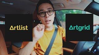 유튜브 수익창출을 위한 음악과 영상 | Artlist, Artgrid