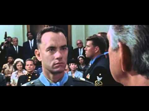 Forrest Gump - Shot In The Buttocks