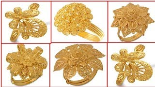 YÜZÜK MODELLERİ 22 AYAR BAYAN,Top Beautiful Gold Rings Designs For Women 22K