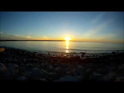 Rock Island Sunset 083112