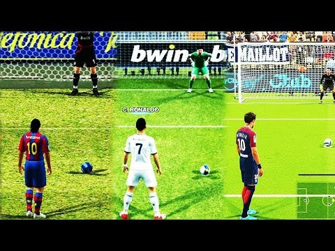 Penalty Kicks From PES 96 to 19