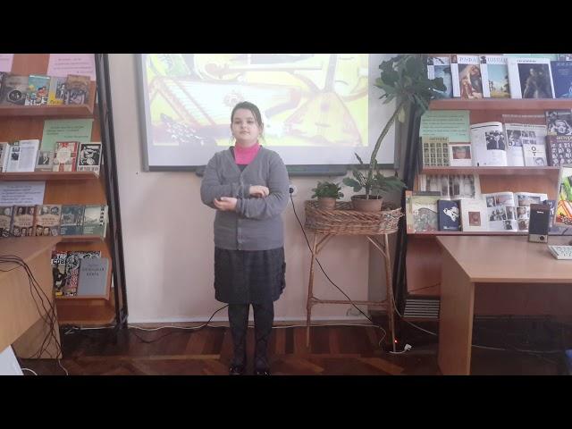 Изображение предпросмотра прочтения – «ГБОУ школа № 612 Центрального района Санкт-Петербурга» читают произведение «Частушки» (Русский фольклор )