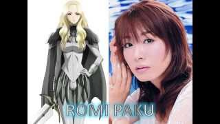 Claymore Voice Actors