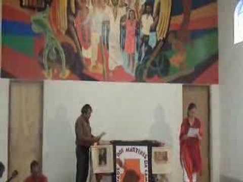 Homenagem à Dom Casaldáliga da Irmandade dos Mártires