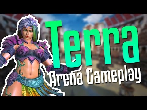 Smite: The Earth Mother!- Terra Arena Gameplay