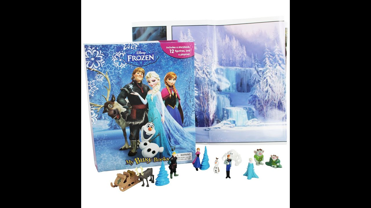 disney frozen my busy book - photo #1