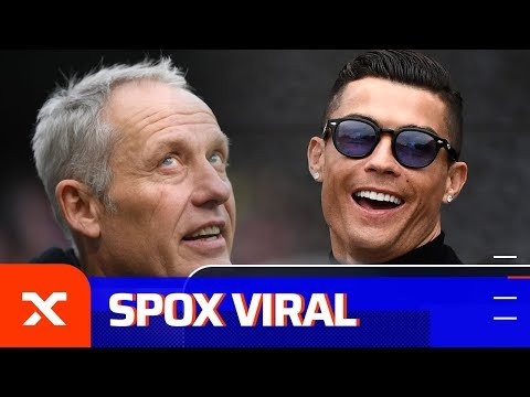 Christian Streich scherzt: Kann Cristiano Ronaldo noch zum Friseur gehen?  SC Freiburg   SPOX News