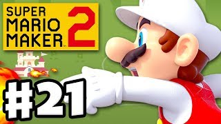 Normal Endless Challenge! - Super Mario Maker 2 - Gameplay Walkthrough Part 21 (Nintendo Switch)