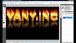 Tutorial Photoshop: Efecto Texto Fuego