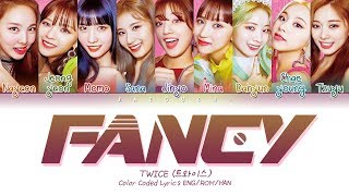 "Gambar cover TWICE (트와이스) ""FANCY"" (Color Coded Lyrics Eng/Rom/Han/가사)"