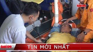 Vượt hơn 300 hải lý cứu ngư dân bị nạn trên vùng biển Hoàng Sa