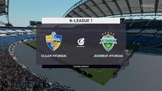 FIFA 20 | Ulsan Hyundai vs Jeonbuk Hyundai - K League 1 | 28/06/2020 | 1080p 60FPS