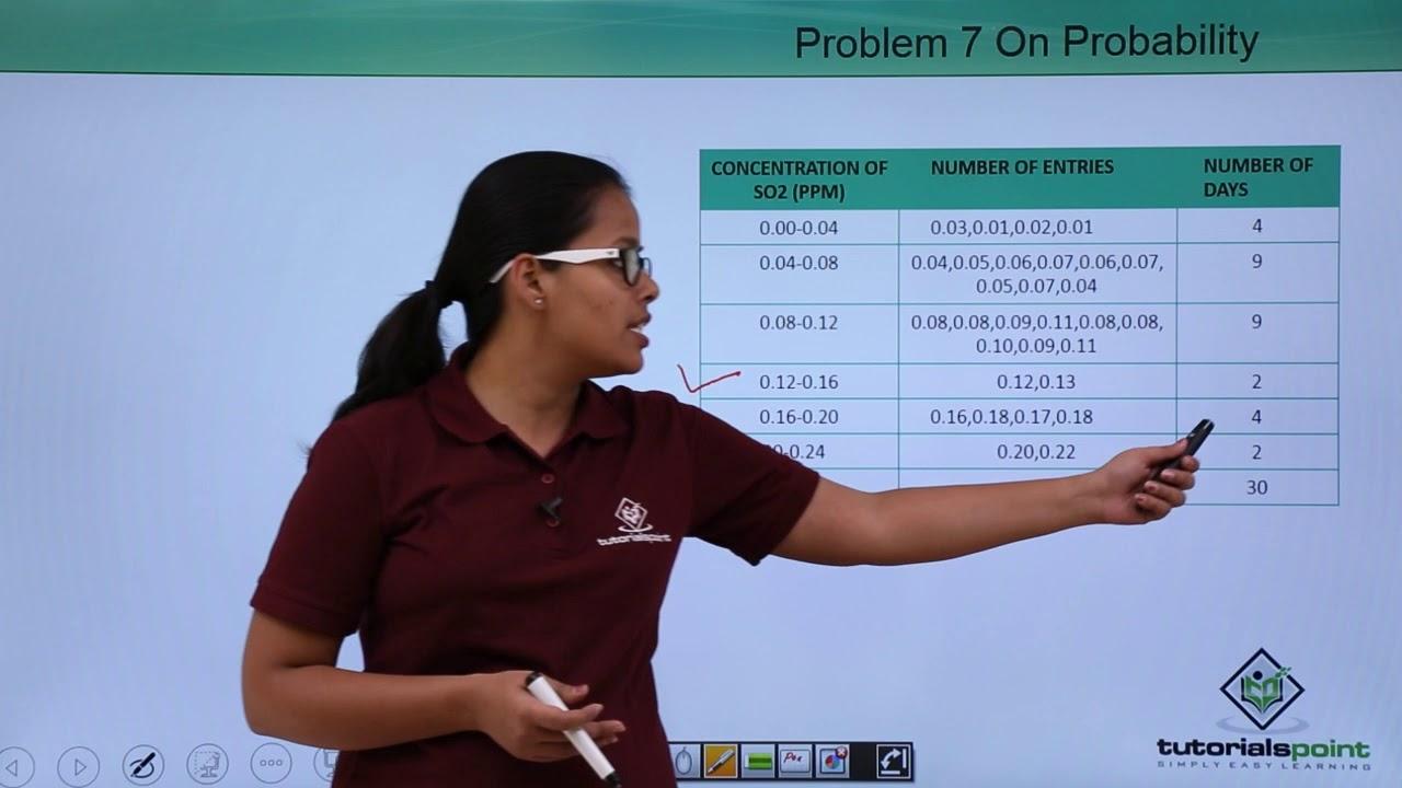 Probability - Problem 7 on Probability - YouTube