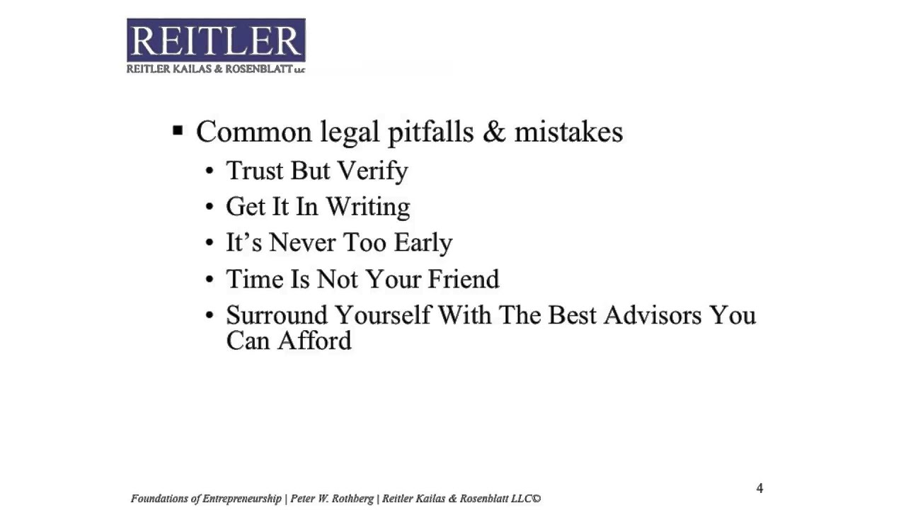 Preview Startup Legal Essentials Part 1 Founders Agreements