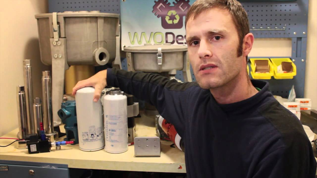 Wvo Designs Heated Fuel Filter Youtube Griffin Filters Leon