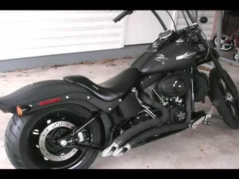 2007 Harley Night Train Big Radius Comparison/Sound - YouTube