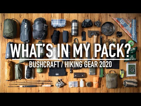 What's In My BUSHCRAFT / HIKING Backpack 2020?!